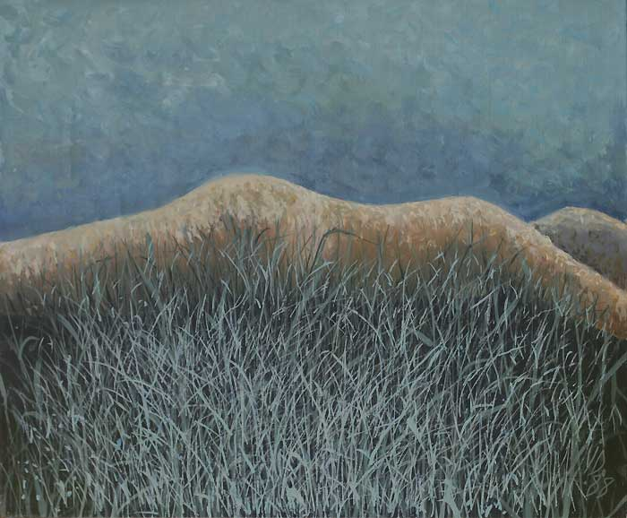 NUDE IN GRASS - Oil/Canvas (50x60) 1988
