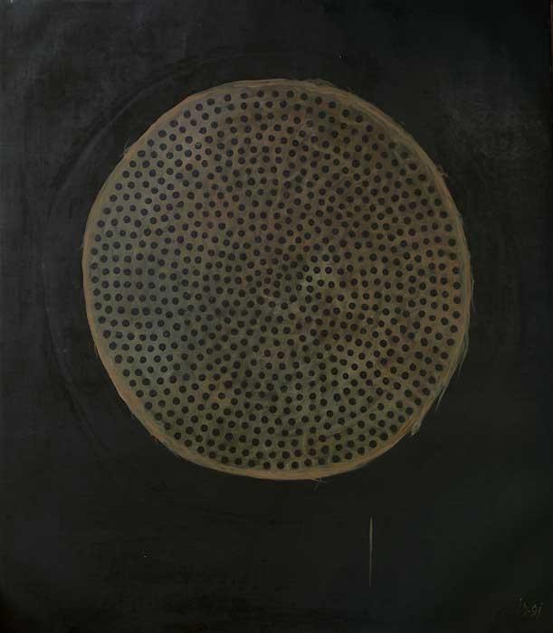 SIEVE III - Oil/Canvas (114x100) 1991