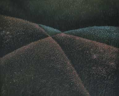 HILLS - Oil/Canvas (65x81) 1992