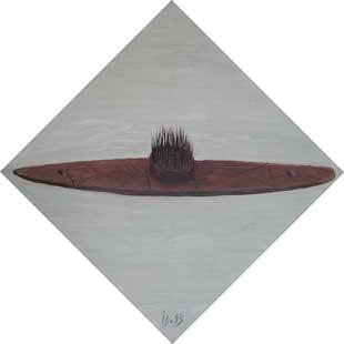 CARD I - Oil/Canvas (50x50) 1993