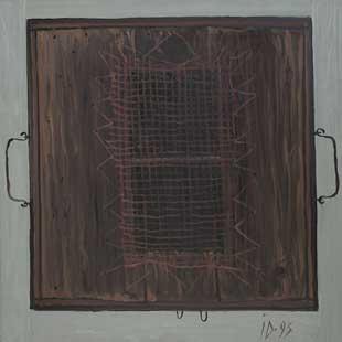 ROINITA - Oil/Canvas (50x50) 1993