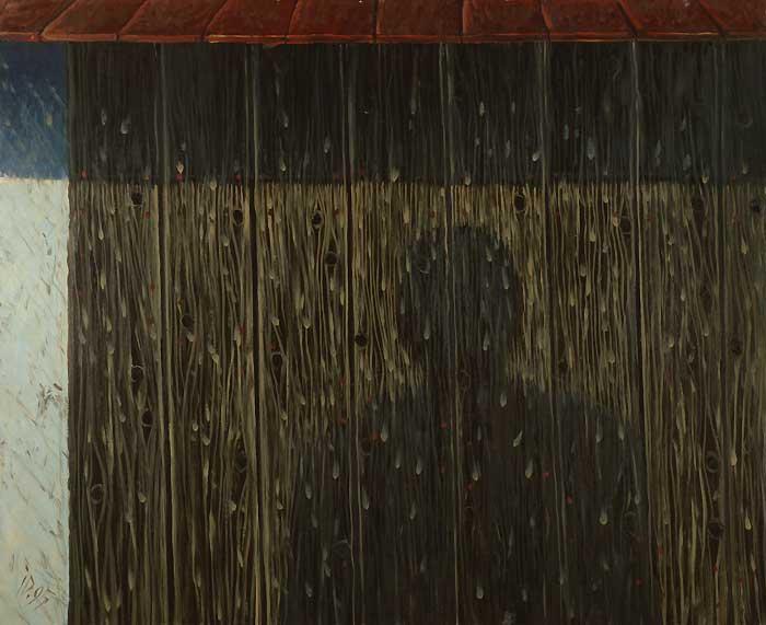 SHADOW XII - Oil/Canvas (81x100) 1995
