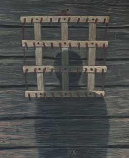 HARROW - Oil/Canvas (100x81) 1995