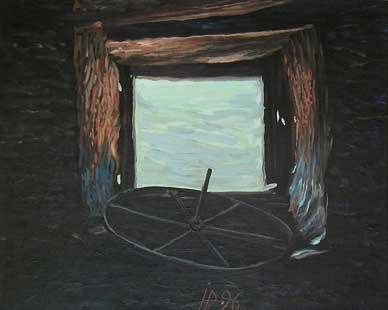 WINDOW III - Oil/Canvas (40x50) 1996