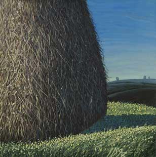 HAYSTACK - Oil/Canvas (49x49) 1997