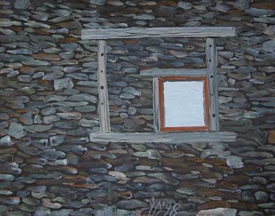 WINDOW - Oil/Canvas (27x35) 1998