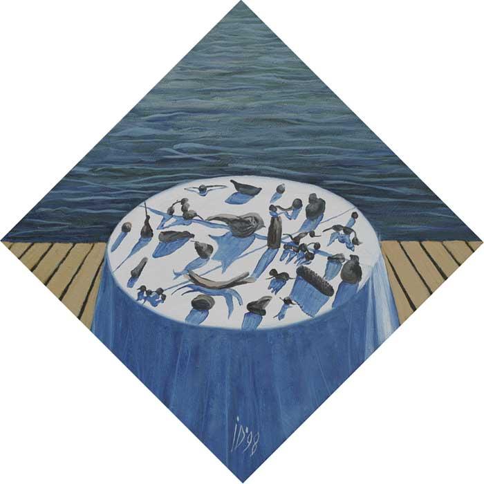 SHADOWS - Oil/Canvas (45x45) 1998