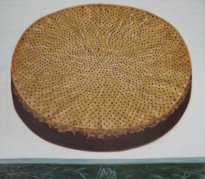 SIEVE IV - Oil/Canvas (65x75) 1998