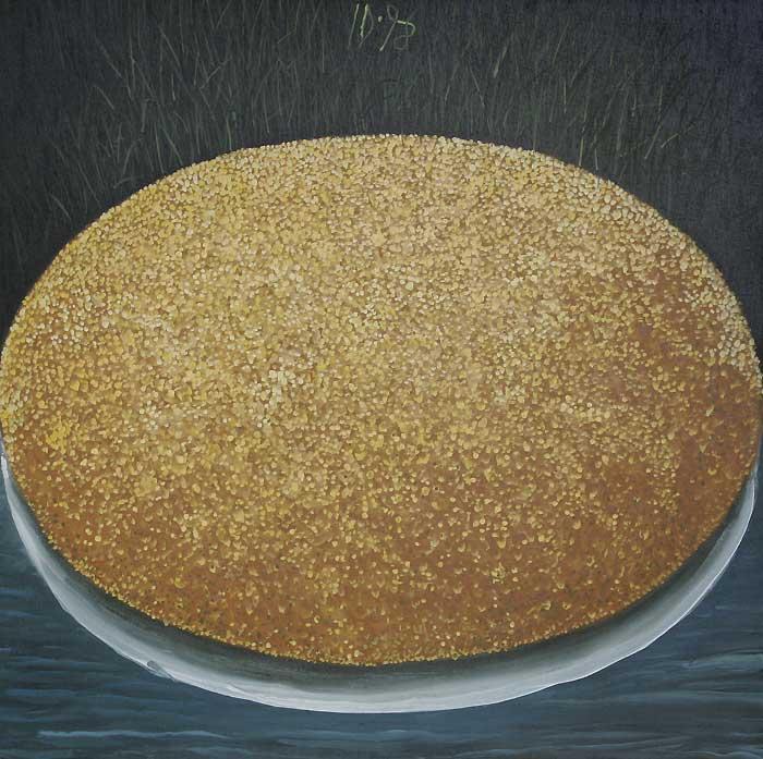 POLENTA I - Oil/Canvas (65x65) 1998