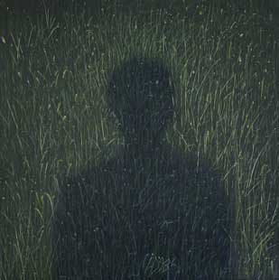 SHADOW - Oil/Canvas (65x65) 1998