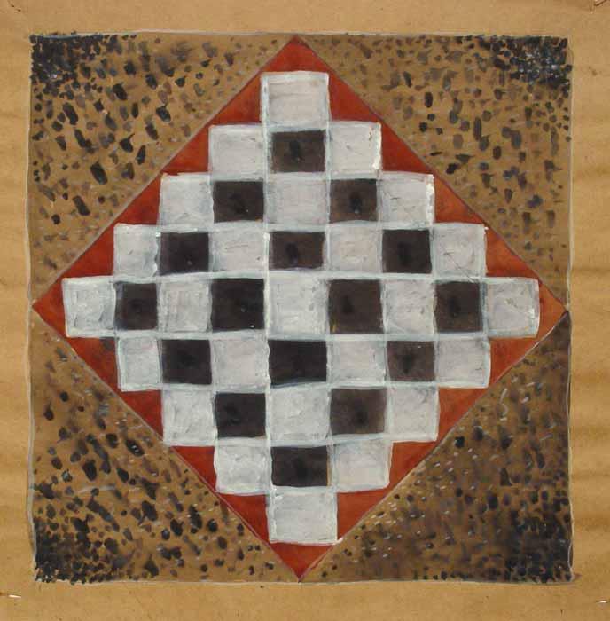 FARA TITLU - Acuarela / Hirtie (46x46)