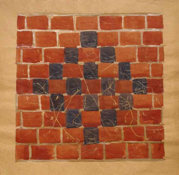 FARA TITLU - Acuarela / Hirtie (50x50)