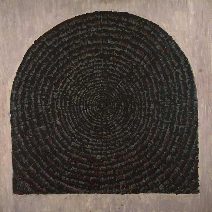 CAP DE GRINDA XXVIII - Ulei/Pînza (81x81) 1986