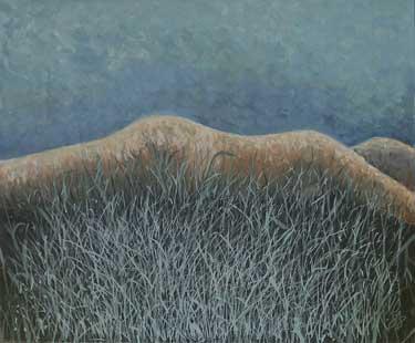 NUD IN IARBA - Ulei/Pînza (50x60) 1988