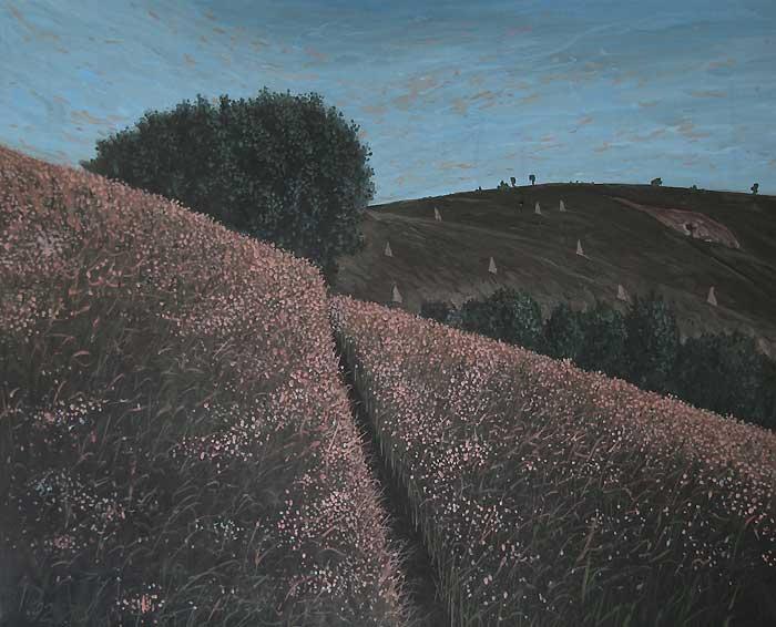 PEISAJ III - Ulei/Pînza (65x81) 1992
