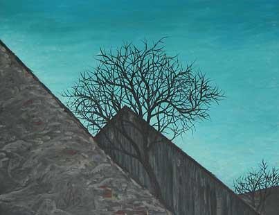 ACOPERISURI - Ulei/Pînza (50x65) 1994