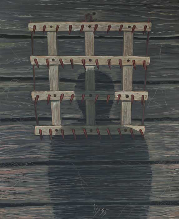 GRAPA - Ulei/Pînza (100x81) 1995