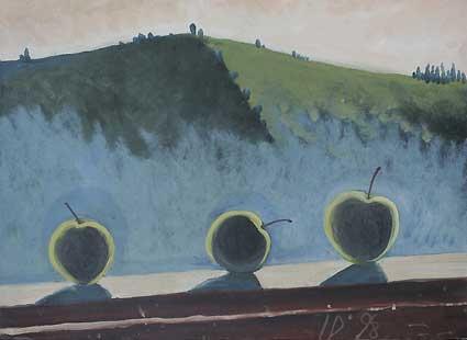 MERE II - Ulei/Pînza (35,5x46,5) 1998