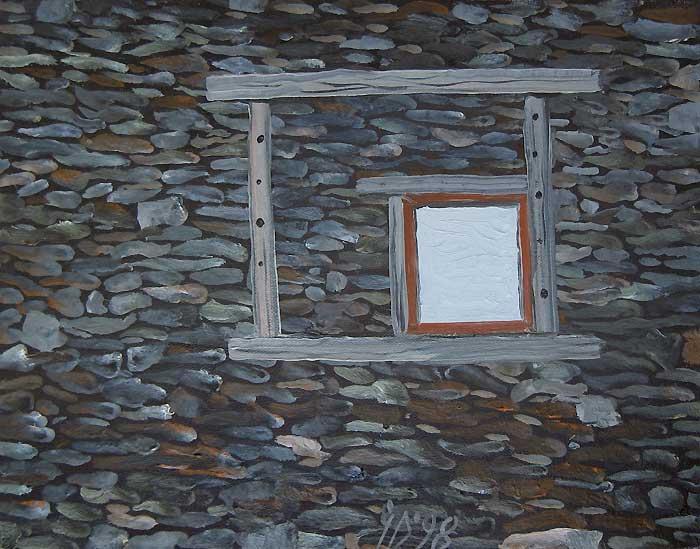 FEREASTRA - Ulei/Pînza (27x35) 1998